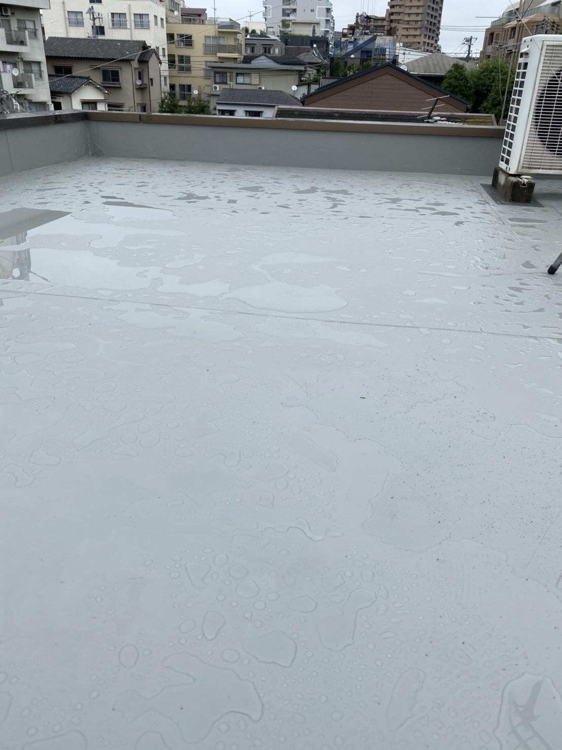 屋上シート防水工事