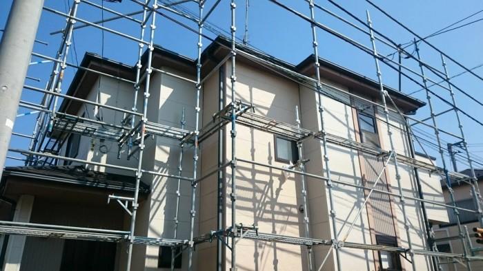 2017.4月中旬 東松山市 外壁塗装工事