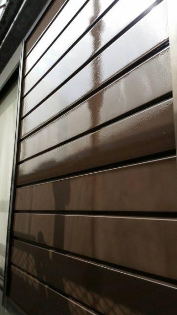雨戸、戸袋塗装2