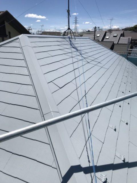 遮熱屋根塗装