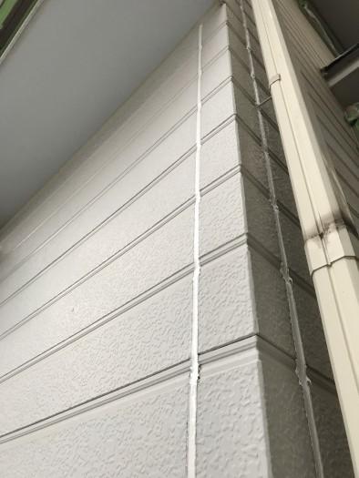 2019.8月 外壁塗装、コーキング工事  東京都中野区  北田塗装