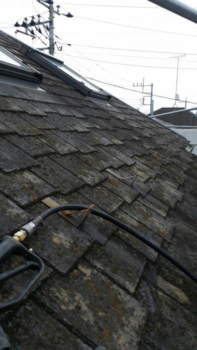 2017.4月上旬 新座市 屋根、外壁塗り替え工事